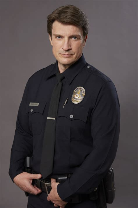 nathan fillion lost the rookie starring nathan fillion picked up to series