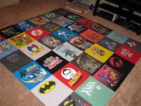 T Shirt Quilt Revamped!   Totally Stitchin