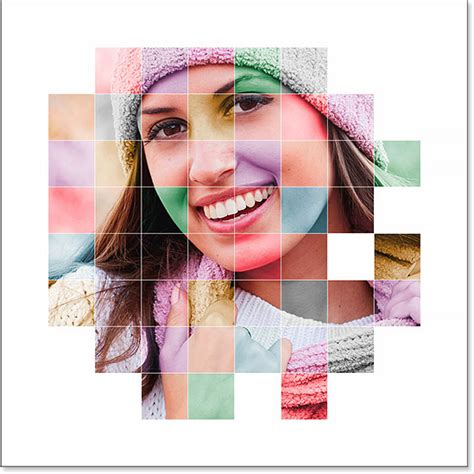design grafis photoshop cs4 color grid photo display effect with photoshop dunia