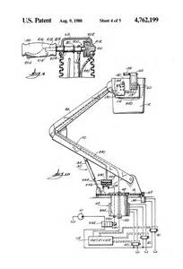patent us4762199 aerial lift including fiber optics boom patents