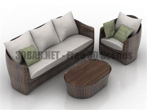 Furniture Sofa Armchair by 3d Bar Free 3d 3d Models 3d Collections