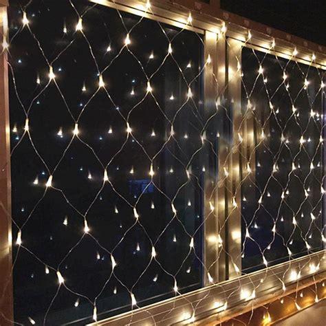 mini star net led string light 200led 3 2m mesh fairy