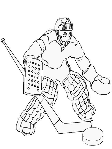 hockey coloring pages coloringpages1001 com