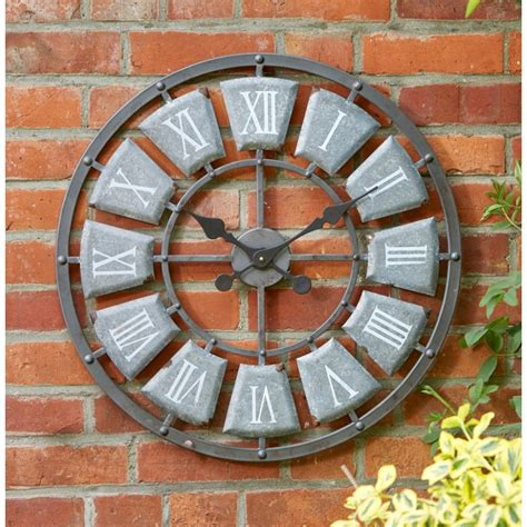 large outdoor clocks large outdoor wall clocks marvellous large