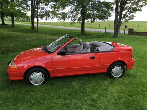 auto air conditioning repair 1992 pontiac firefly free book repair manuals 1992 geo metro lsi roadster convertible must see for sale photos technical specifications