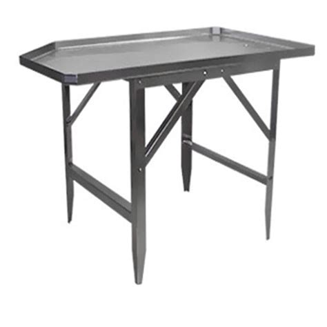 stainless steel butcher table catalog stainless steel sausage tables mpbs industries