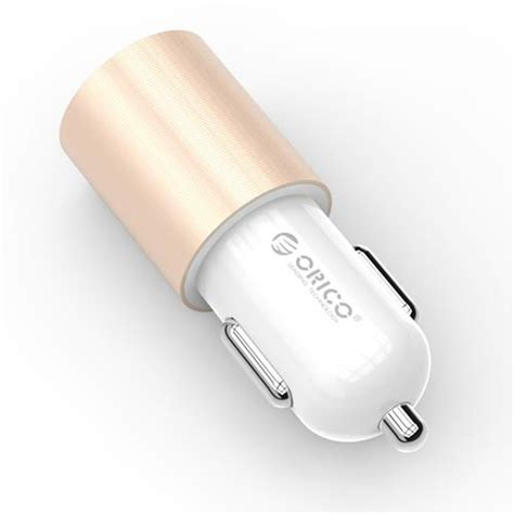 Exclusive Orico Car Charger Dual Usb Ucm 2u Murah Meriah orico ucf 2u dual port car charger gold