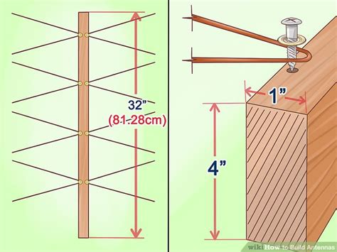 build antennas  pictures wikihow