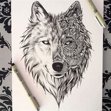 Sketches Wolf by Wolf Drawing Dr