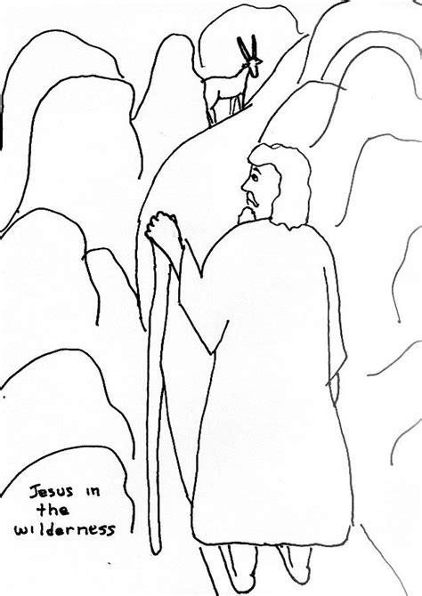 coloring pages jesus is tempted jesus is tempted coloring page coloring home