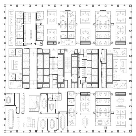 company floor plan gallery of midtown financial company a i architecture 14