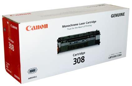 canon cart308 black original toner for lbp3300 lbp3360 price bangladesh bdstall