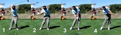 stages of a golf swing downswing