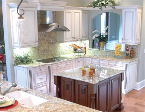 kitchen cabinets palm desert traditional dark wood cabinets granite countertops