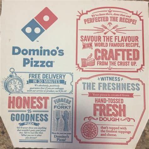 domino pizza free delivery delivery box picture of domino s pizza richards bay