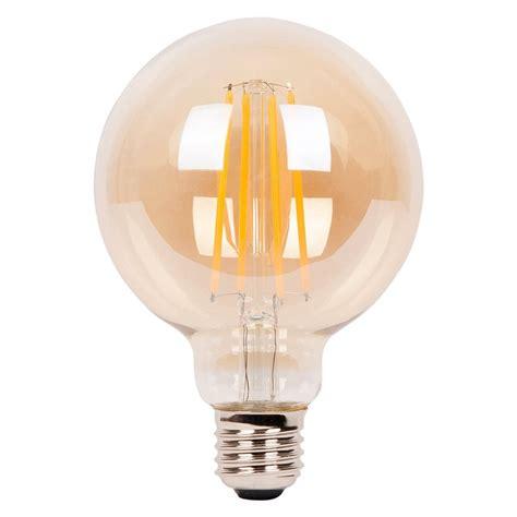 light bulbs edison light bulb medium globe led 4w filament cult uk
