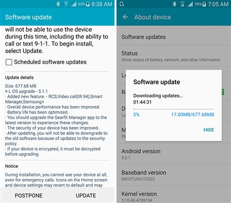 t mobile android update t mobile galaxy note 4 update brings android 5 1 1 advanced messaging and t mo calling