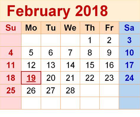 february 2018 calendar february 2019 calendar printable templates this site