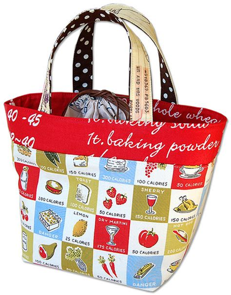 pattern for fabric lunch bag diy lunch bags 10 cute simple and free tutorials to