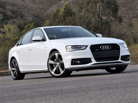 Audi A4 2014 Test by 2014 Audi A4 Road Test And Review Autobytel