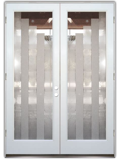 Frosted Glass Exterior Doors Glass Front Entry Doors Frosted Glass Obscure Towers 2d Contemporary Front Doors Other