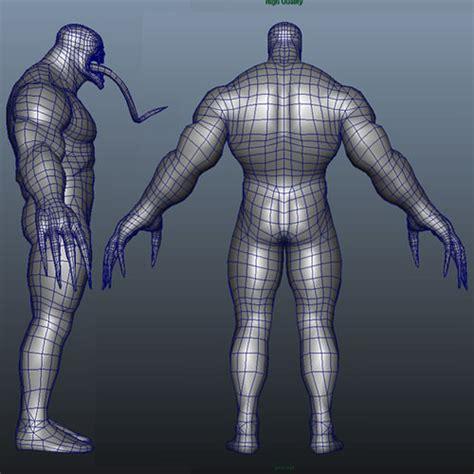 free download cgtrader models venom 3d model obj ma mb cgtrader