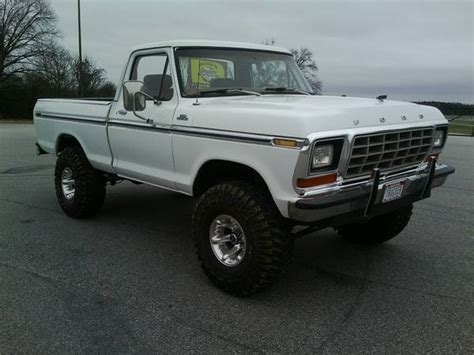 1979 Ford F150 4x4 For Sale by 1979 Ford F150 Explorer Shortbed 4x4 Lifted Classic Ford