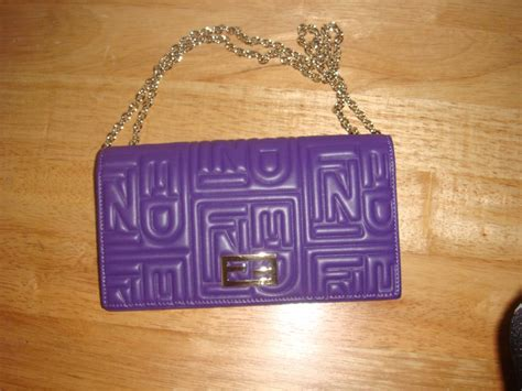 Fendi 10th Anniversary Baguette by Goodies From My Bag Closet Purseforum