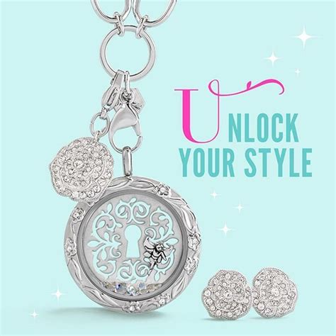 Origami Owl Designer Care - unlock your style with our new fall collection that is