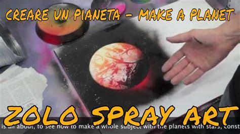 spray paint zolo tutorial base pianeti ita planet sub eng spray paint