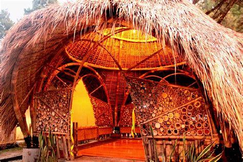 Ilmu Konstruksi Bangunan Bambu pengabdian masyarakat rancang bangun bangunan bambu