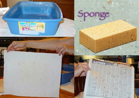 How To Make Recycle Paper - how to make paper from recycled materials etsy