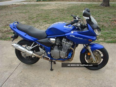 Suzuki Bandit 2001 2001 Suzuki Bandit Gf600s Blue Rides