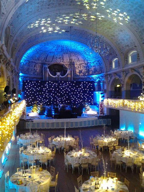 christmas parties at oxford town hall