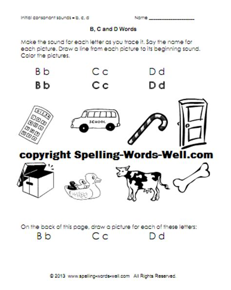 4 Letter Words Using C O N E phonics printables free fast to prepare