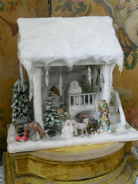dolls house christmas beautiful german winter wonderland doll house from