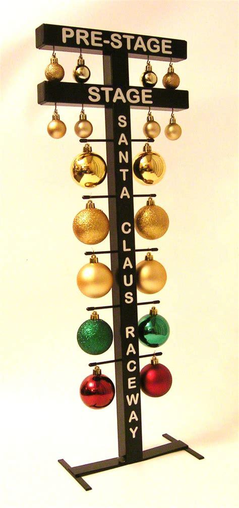 drag racing startline christmas tree santa claus raceway