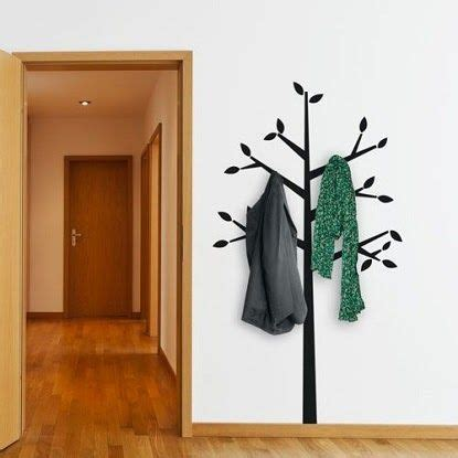 T205 03 Giraffe Multifunction Wardrobe Cloth Rack With Cover Lemari Pa 1 ha what a fantastic idea to use wall decal as a coat hanger home sweet home