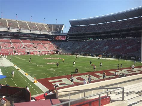 bryant denny stadium student section bryant denny stadium section s8 rateyourseats com