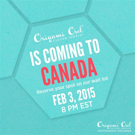 Origami Owl Canada - origami owl is coming to canada hoots