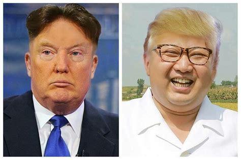 donald trump amp kim jong un hairswap for the internet win