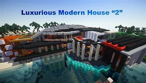 Minecraft Home Interior Ideas by Luxurious Modern House Minecraft Building Inc