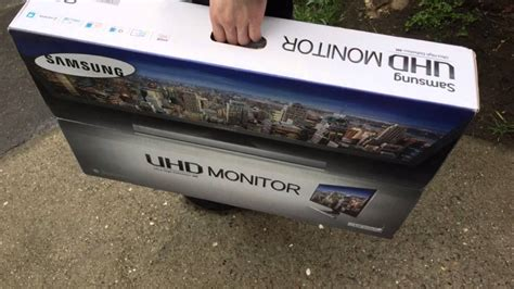 samsung   uhd monitor ued unboxing youtube