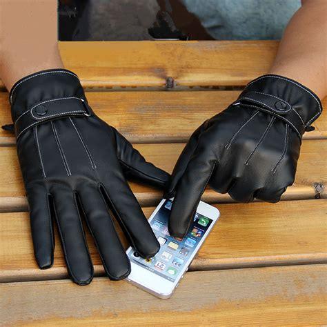 Motorradfahren Ohne Handschuhe by Herren Winter Leder Handschuhe Motorrad Fahrrad Handschuhe