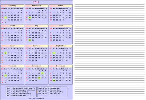 Bluenote Calendar 2011 Calendar Printable 2011 Calendar Color