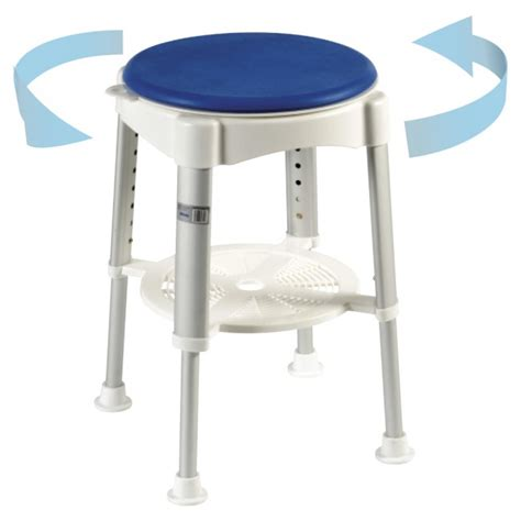 Bathroom Shower Stools Rotating Shower Stool Shower Stools Clearwell Mobility