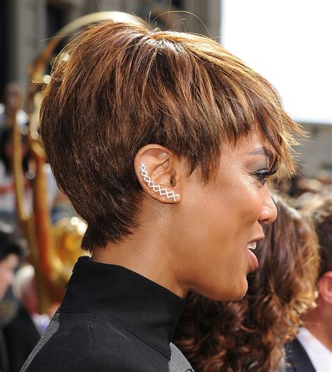tyra banks with fringe bangs short hairstyle 2013 how to do tyra banks pin up short hairstyle 2013