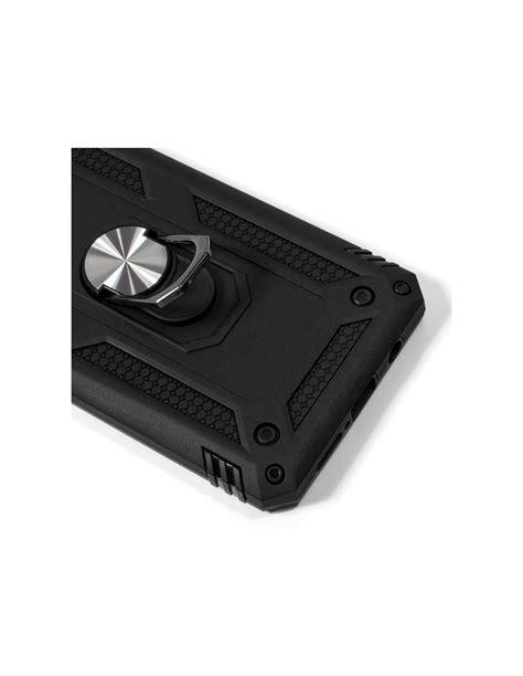 Carcasa reforzada TPU iPhone 11 Pro anilla negra