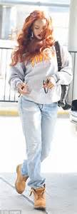 Daily Baggy Chocolatte rihanna dons oversized jacket and baggy as she