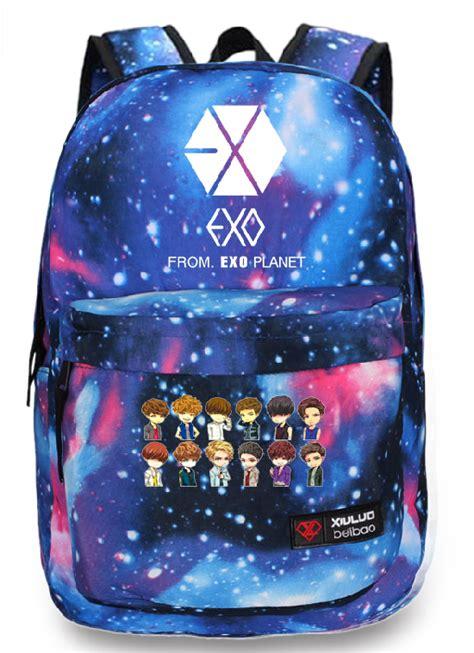 Backpack Exo Planet kpop exo planet exo m exo k luhan starry sky backpack
